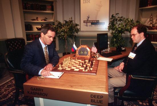 Paradójico: Un fallo de Deep Blue le permitió derrotar a Kasparov