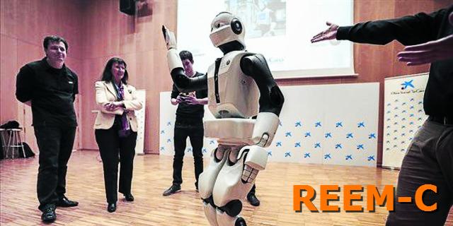 El robot humanoide de última gama: Reem C