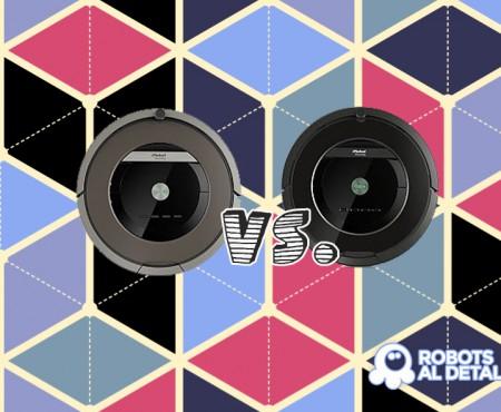 Comparativa Roomba 870 vs. Roomba 880