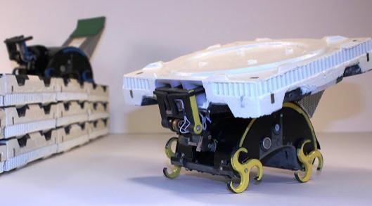 Robots constructores inspirados en las termitas
