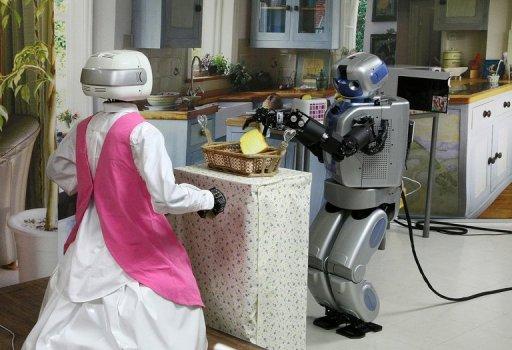 Robots para las tareas del hogar