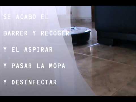 Video presentación robot aspirador Sali 800
