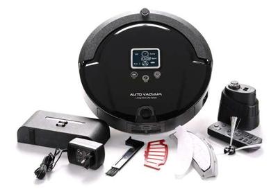 Robot aspirador Amtidy 320 contenido