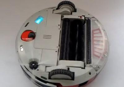 Robot aspirador Amtidy 320 parte inferior