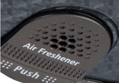 Robot  Samsung SR8F40 detalle del difusor de perfume