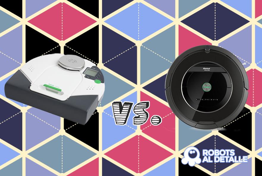 Comparamos Kobold VR100 y Roomba 880