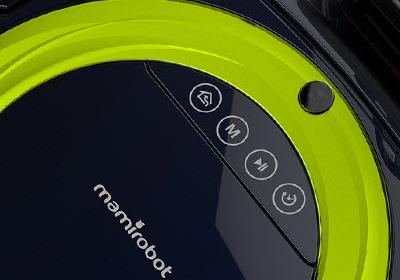 mamirobot Curling detalle panel