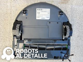Robot aspirador Kobold VR-200 parte inferior