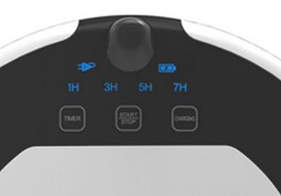 Robot aspirador E55 detalle Display
