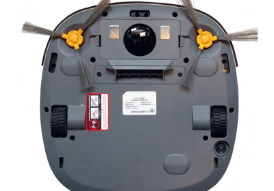 Robot aspirador Ecovacs Deepoo D35 parte inferior