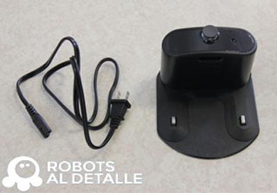 Base de carga de Roomba sin transformador
