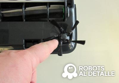 Cómo cambiar el cepillo del Kobold VR-200