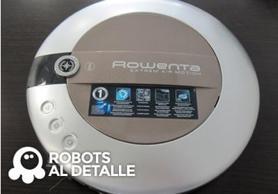 Cómo cambiar el filtro del robot aspirador Rowenta
