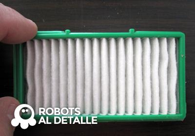 Colocamos filtro nuevo en su carcasa
