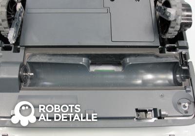 Detalle del compartimento del cepillo del Kobold VR-200