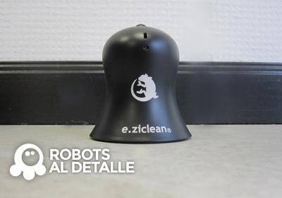 El Robot aspirador eziclean BOT Pets pared virtual