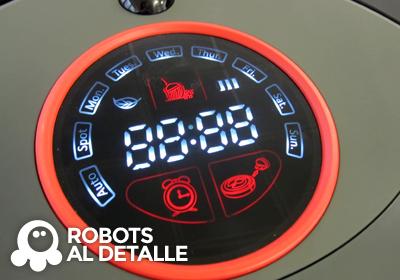 Robot aspirador eziclean BOT Pets Detalle panel