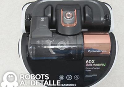 Video oficial robot aspirador Samsung Powerbot VR9000