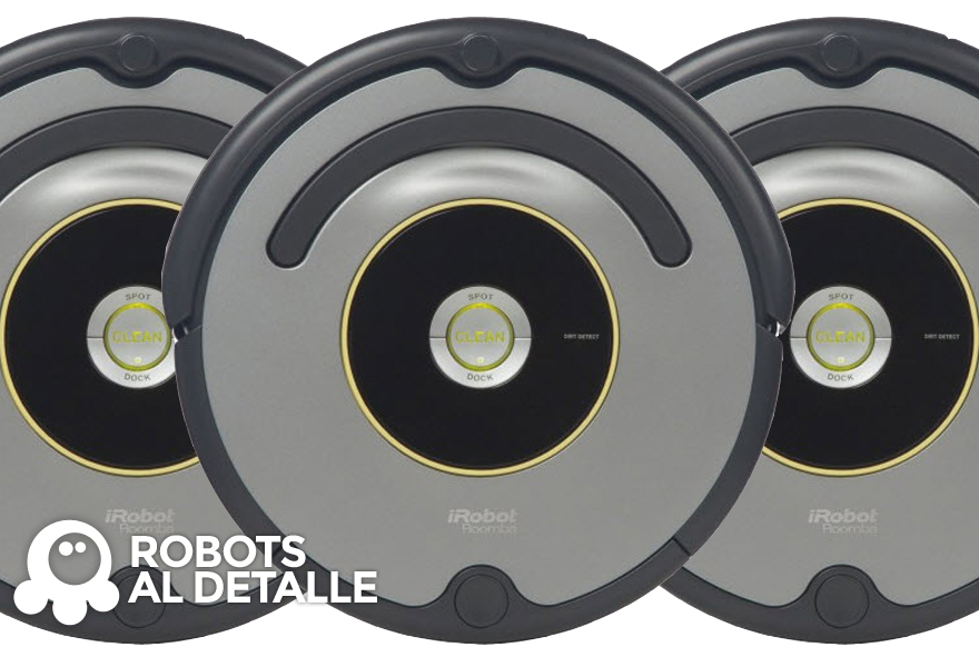 Comparativa iRobot Roomba Series 500, 600, 700 y 800