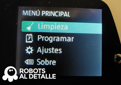 Buscamos ajustes en el menu Kobold VR- 200
