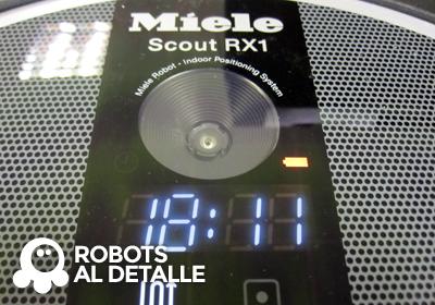 Encendemos el Miele Scout RX1