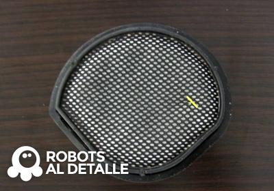 Cambiar el filtro al robot Samsung Powerbot VR 9000