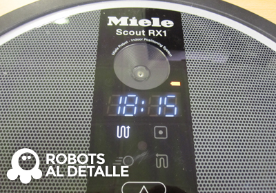 Miele Scout RX1 desprogramada