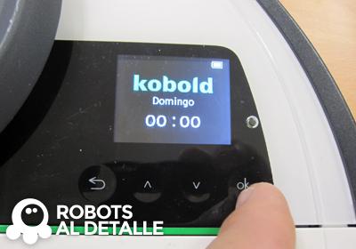 Pulsamos boton OK del Kobold VR-200