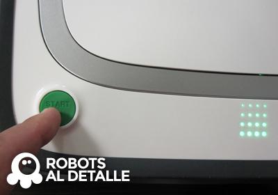 Pulsamos boton start del Kobold VR-200