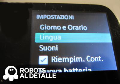 Kobold VR-200 idioma cambiado