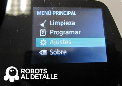 Kobold VR-200 menu principal