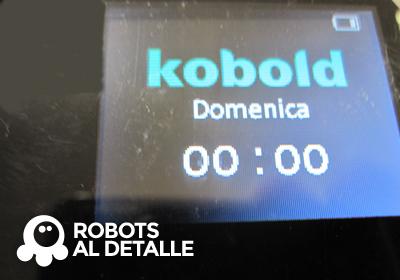 Kobold VR-200 menu principal idioma cambiado