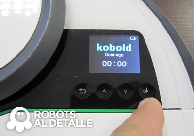 Kobold VR-200 pulsamos boton ok