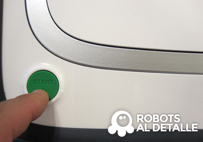 Kobold VR-200 pulsamos boton start