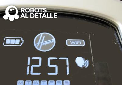 Aparece hora display Hoover Robocom