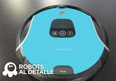 Limpiar el cepillo del Samsung Navibot SR 10F71UB