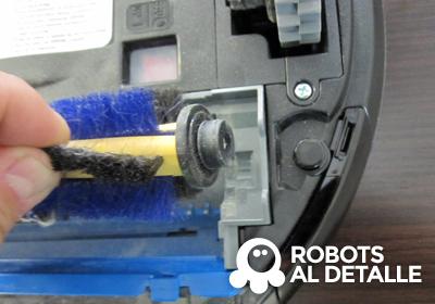 extraemos cepillo Samsung Navibot corner clean