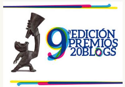 Finaliza la IX  Edición Premios 20 Blogs