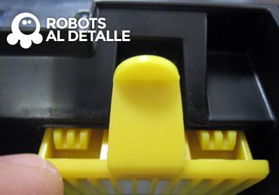 Encajamos filtro nuevo irobot roomba 700