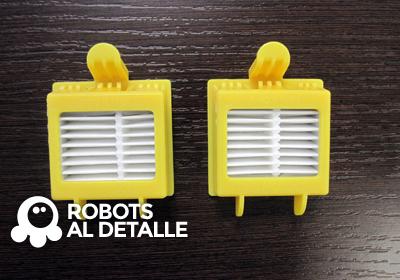 Cómo cambiar el filtro a un iRobot Roomba 700