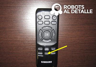cambiar la hora al Samsung Powerbot VR9000