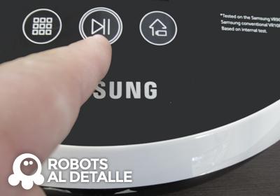 Cómo cambiar la hora al Samsung Powerbot VR9000