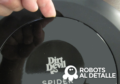 cambiar el filtro  Dirt Devil Spider