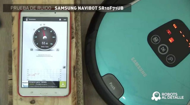 Samsung Navibot Corner Clean: Prueba de Ruido