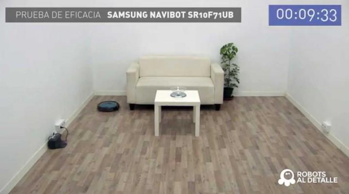 Samsung Navibot Corner Clean: Prueba de Eficacia