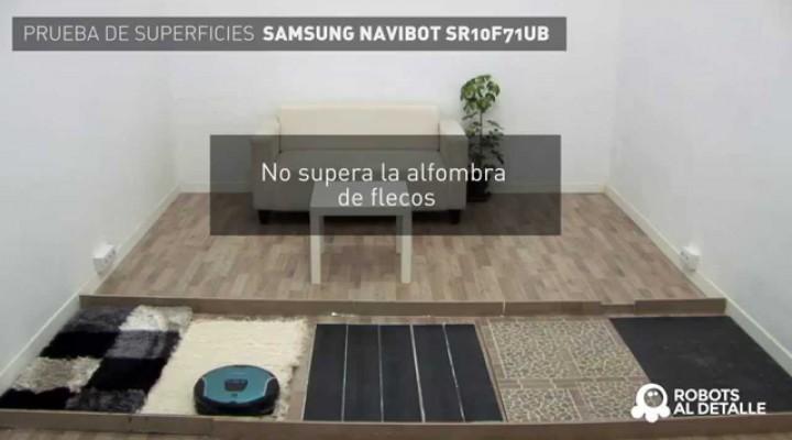 Samsung Navibot Corner Clean: Prueba de Superficies