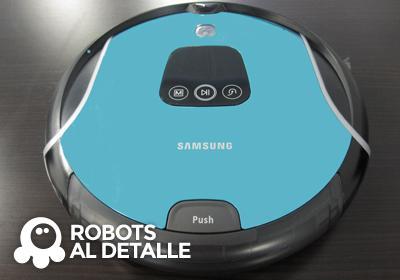 Cómo cambiar el filtro al Samsung Navibot SR 10F71UB