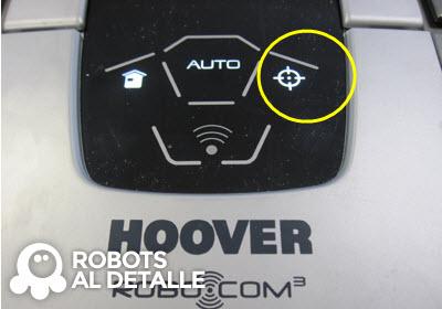 Robot Hoover Robocom RBC090 boton spot