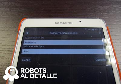 Robot Hoover Robocom RBC090 datos programacion