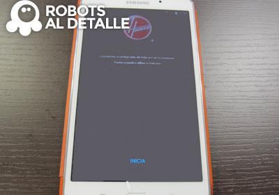 Robot Hoover Robocom RBC090 inicio App